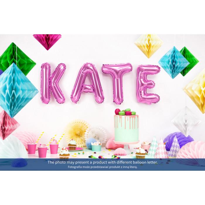 Kula bibułowa, czerwony, 30cm