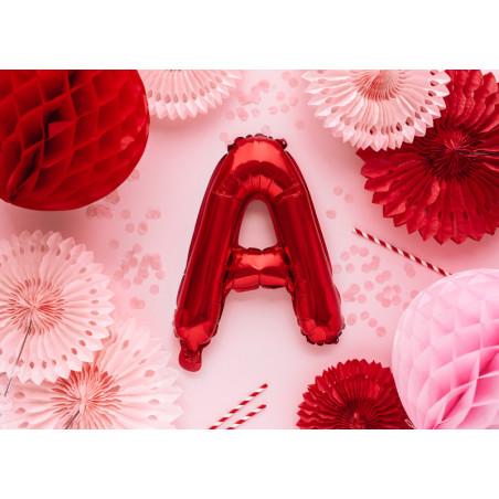 Kula bibułowa, granat, 40cm