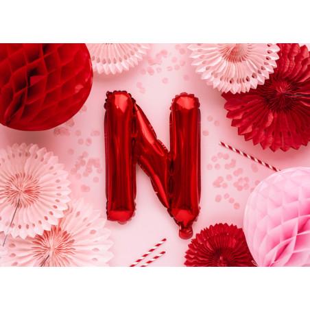 Kula bibułowa, niebieski, 20cm