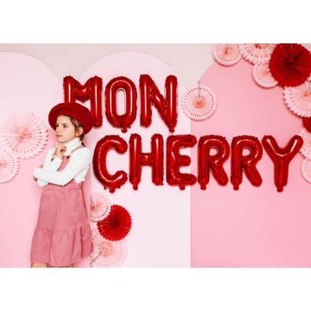 Kula bibułowa, niebieski, 40cm