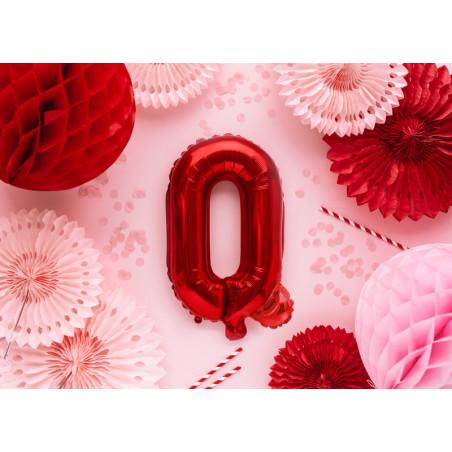 Kula bibułowa, pomarańcz, 30cm