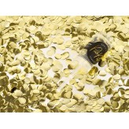 Push pop konfetti, złoty