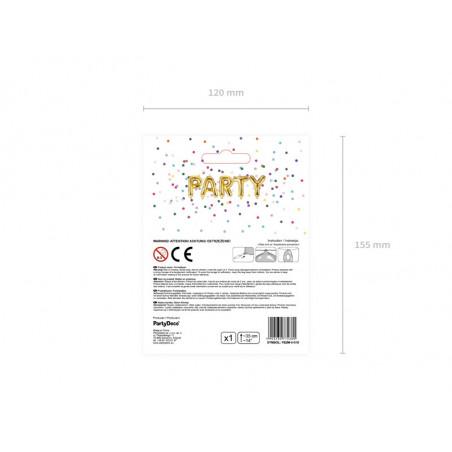 Dekoracje papierowe Aloha, fuksja, 5x12,5cm (1 op. / 6 szt.)