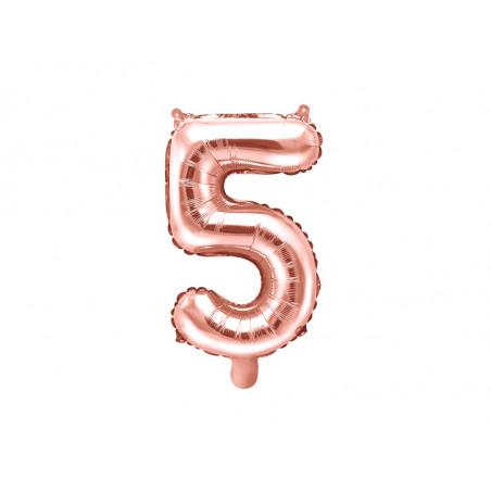 Topper na tort Amour, złoty, 22,5cm