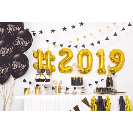 Toppery na tort Lovely Swan, 28,5cm (1 op. / 4 szt.)