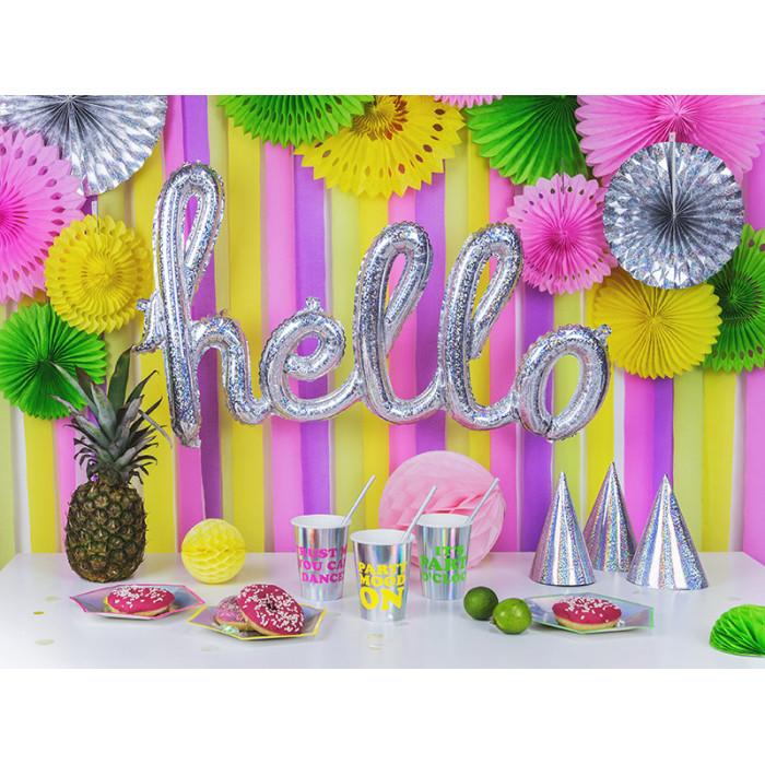 Słomki papierowe, j. róż, 19,5cm (1 op. / 10 szt.)