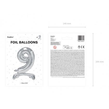 Świeczka urodzinowa Cyferka 3, złoty, 7cm