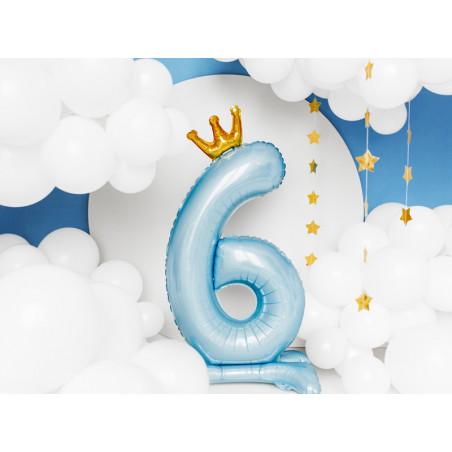 Świeczka urodzinowa Cyferka 4, złoty, 7cm