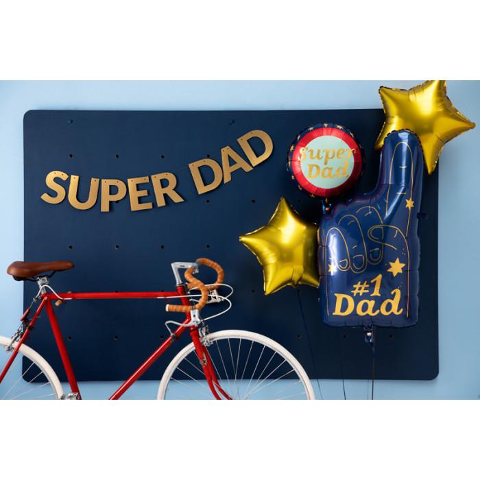 Baner Mr Mrs, biały, 15 x 85 cm