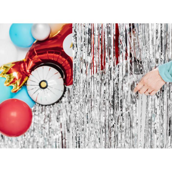 Wstążka plastikowa, biały, 5mm/225m