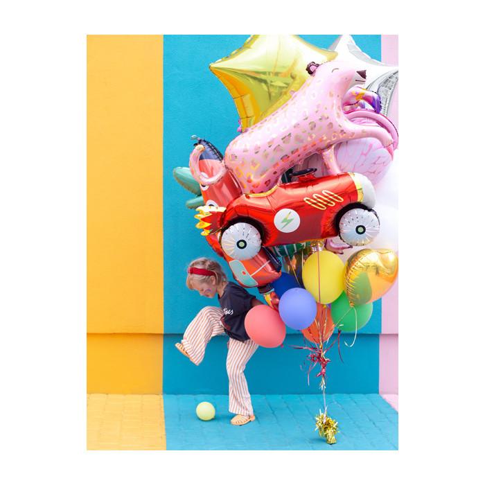 Wstążka plastikowa, błękit, 5mm/225m