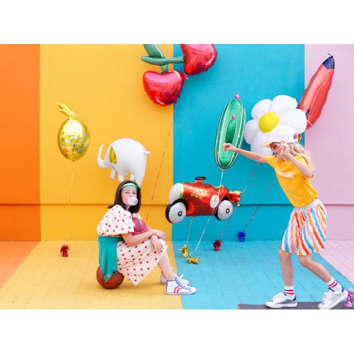 Wstążka plastikowa, c. różowy, 5mm/225m