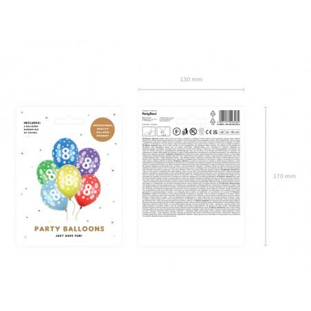 Konfetti holograficzne Motyle, różowy, 15g