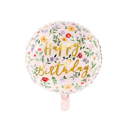 Balony Marmur 30cm, niebieski (1 op. / 6 szt.)