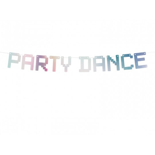 Baner Electric Holo - Party Dance, opalizujący, 9,5x130cm
