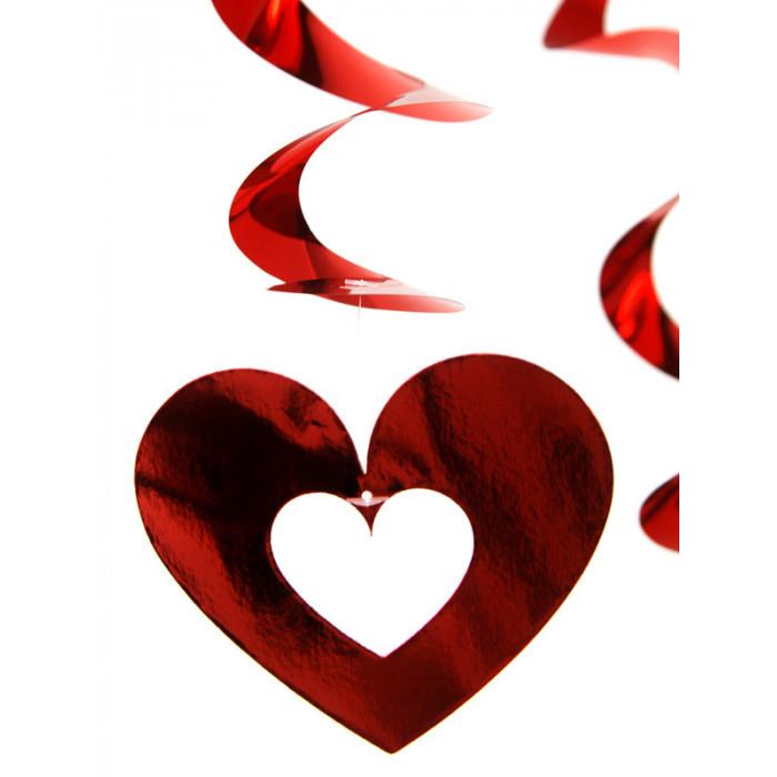 Serpentyny holograficzne, niebieski, 3,8m
