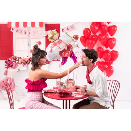 Serpentyny holograficzne, srebrny, 3,8m