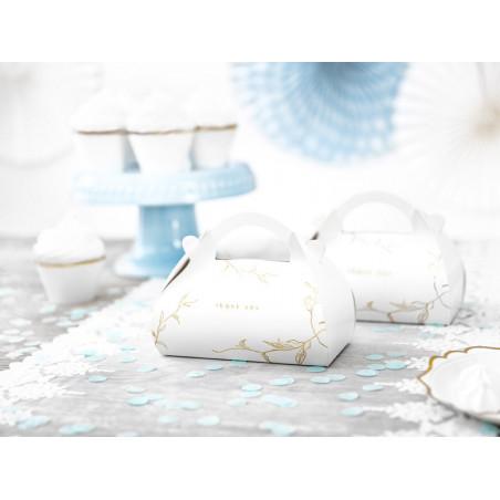 Tuba z konfetti, srebrny, 40cm
