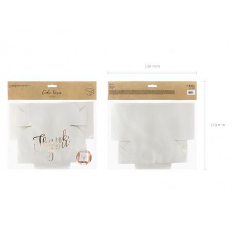 Tuba z konfetti, srebrny, 60cm
