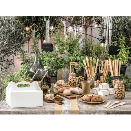 Tuba z konfetti, złoty, 80cm
