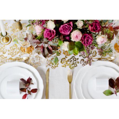 Tuba z gwiazdkami, złoty, 40cm