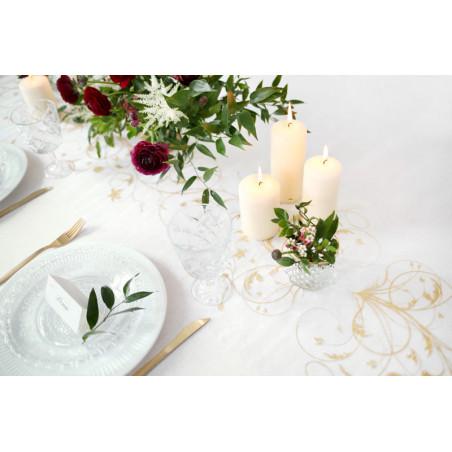 Tuba z gwiazdkami, złoty, 80cm