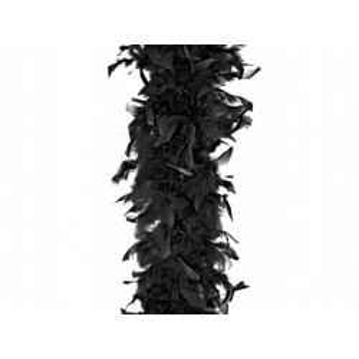 Boa, czarny, 180cm